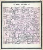 Brown Township, Oakwood, Melrose, Auglaize River, Charloe, Paulding County 1892