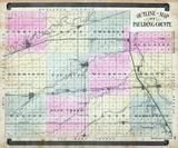 Paulding County Outline Map, Paulding County 1892