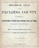 Title Page, Paulding County 1892