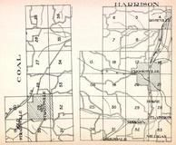 Coal Township, Harrison Township, Straitsville, Roseville, Crooksville, Horne, Lyonsdale, Milligan, Flatiron, Perry County 1941