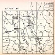 Monroe Township, Comley, Congo. Rendville, Drakes, Hatfield, Corning, Santoy, Sunday Creek, Perry County 1941
