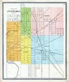 Fostoria Ward Map, Seneca County 1896 Published by Rerick Brothers