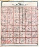 Jackson Township, Amsded, Iler Station, Seneca County 1896 Published by Rerick Brothers