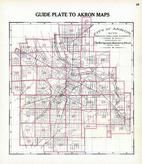 Index Map - Akron City
