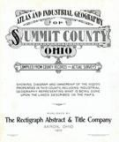 Title Page, Summit County 1910