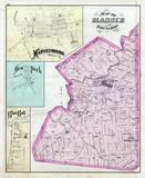 Massie Township, Harveysburg, Hen Peek, Blue Ball, Hickoryville, Warren County 1875