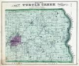 Turtle Creek Township - East, Lebanon, Genntown, Warren County 1875