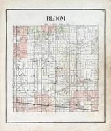 Bloom Township, Cygnet, Jerry City, Eagleville, Bairdstown, Bloomdale, Welker, Wood County 1912