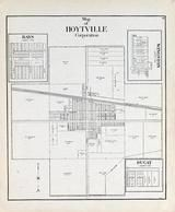 Hoytville Corporation, Bays, Wingston, Ducat, Wood County 1912