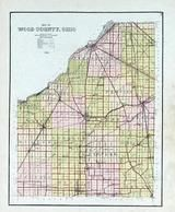 Index Map, Wood County 1912
