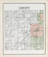 Liberty Township, Rudolph, Portage, Wingston, Wood County 1912