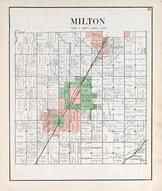Milton Township, Custer, Milton Center, Beaver Creek, Portage River, Wood County 1912