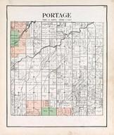 Portage Township, Merrill, Jerry City, Bull Creek, Mungen, Portage River, Wood County 1912