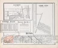 Ross Township, Luckey, Lime City, Foster Place, Rossford, Wood County 1912