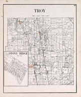 Troy Township, Stony Ridge, Luckey, Lemoyne, Wood County 1912