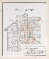 Washington Township, MIltonville, Tontogany, Sister Creek, Maumee River, Wood County 1912
