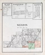 Weston Township, Blake, Eagleville, Hatton, Wood County 1912