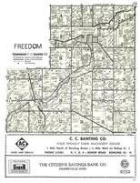 Freedom Township, Pemberville, Wood County 1954