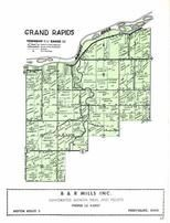 Grand Rapids Township, Maumee River, Wood County 1954