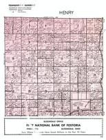 Henry Township, North Baltimore, Wood County 1954