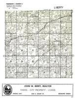 Liberty Township, Portage, Wood County 1954