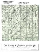 Montgomery Township, Bradner, Wood County 1954