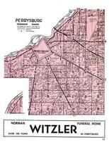 Perrysburg Township, Maumee River, Wood County 1954