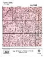 Portage Township, Jerry City, Wood County 1954