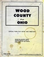 Title Page, Wood County 1954