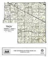 Troy Township, Luckey, Wood County 1954