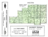 Weston Township, Wood County 1954