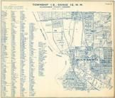 Township 1 S., Range 1 E., Milwaukie, Willamette River, Clackamas County 1951