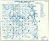 Township 6 N., Range 2 W., Shiloh Basin, Tide Cr., Reuben, Neer City, Trojan, Goble, Columbia County 1956