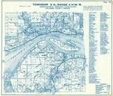 Township 8 N., Range 4 W., Columbia River, Locoda, Quincy, Beaver Military Reserve, Columbia County 1956