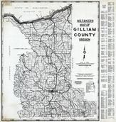 Gilliam County 1980 to 1996 Mylar, Gilliam County 1980 to 1996
