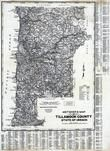 Tillamook County 1980 to 1996 Mylar, Tillamook County 1980 to 1996
