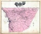 Reade Township, Glasgow P.O., Fallen Timber, Frugality, Ashville, Clearfield, Cambria County 1890 Published by Atlas Publishing Company
