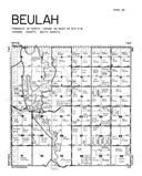 Beulah Township, Hanson County 1949