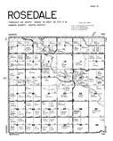 Rosedale Township, Hanson County 1949