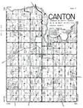 Canton Township, Lincoln County 1956 Published by R. C. Booth Enterprises