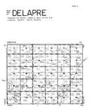 Delapre Township - West, Lincoln County 1956 Published by R. C. Booth Enterprises
