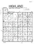 Highland Township, Lincoln County 1956 Published by R. C. Booth Enterprises