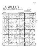 La Valley Township, Lincoln County 1956 Published by R. C. Booth Enterprises