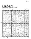 Lincoln Township, Lincoln County 1956 Published by R. C. Booth Enterprises