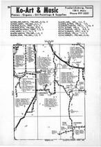 Map Image 007, Gillespie County 1970