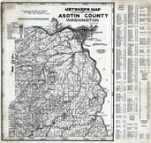Asotin County 1980 to 1996 Mylar, Asotin County 1980 to 1996