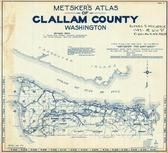 Index Map, Title Page, Clallam County 1970
