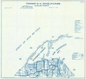 Township 31 N., Range 3 and 4 W., Dungeness Harbor, Strait of Juan De Fuca, Clallam County 1970