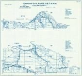 Township 31 N., Range 8 and 7 W., Joyce, Freshwather Bay, Angeles Point, Crescent Bay, Clallam County 1970