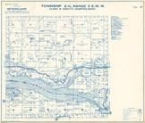 Township 6 N., Range 3 E., Lake Merwin, Green Mountain, Clark County 1961